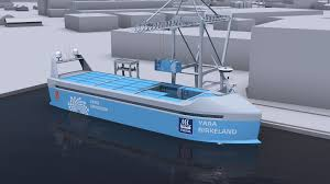 China launches world's first fully electric cargo ship