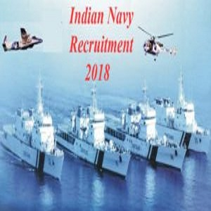Indian Navy Recruitment II 2018