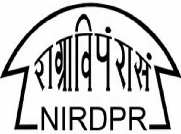 NIRDPR Recruitment 2019
